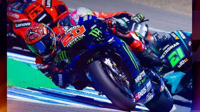 Jadwal MotoGP Prancis 2021 Pekan Ini, Penebusan Quartararo, Valentino Rossi & Marquez Janji Kencang