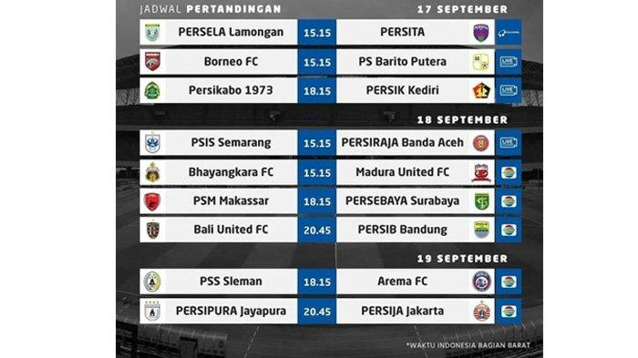 Jadwal pertandingan Liga 1 2021 pekan ketiga Arema FC vs PSS Sleman