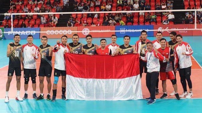 Jadwal Tayang Final Bola Voli Putra SEA Games 2019 Indonesia VS Filipina, Perebutan Medali Emas
