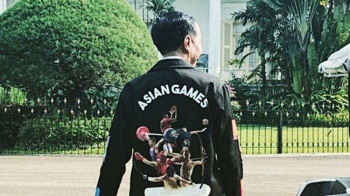 Viral Jaket Asian Games Milik Jokowi, Ternyata dari Sini Asal Usulnya