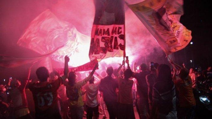 Buntut Kerumunan Massa Suporter Persija dan Persib, Nasib Liga 1 2021 Disorot, Apakah Dibatalkan?