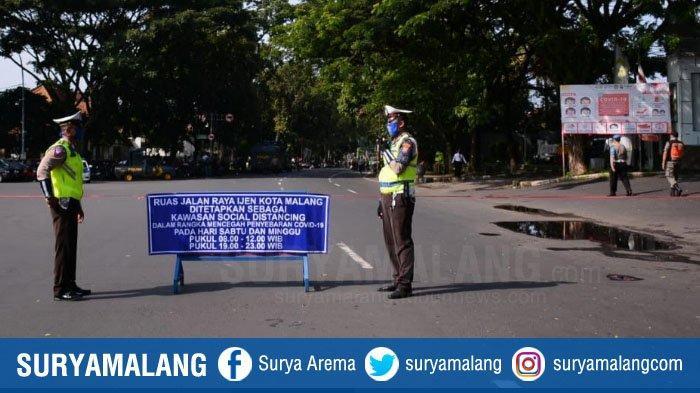 Polresta Malang Kota Akan Tutup Ruas Jalan Besar Ijenkarena Covid-19, Mulai Sabtu 26 September 2020