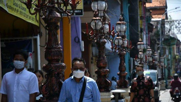 Wajah Baru Kota Tua Surabaya, Jalan Ganti Paving dan Ornamen Lampu Kuno di Sepanjang Jalan