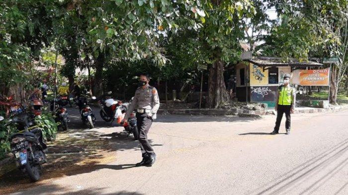 Puluhan Kendaraan Ketahuan Nekat Lawan Arah di Jalan Raung Kota Malang Langsung Ditilang Polisi
