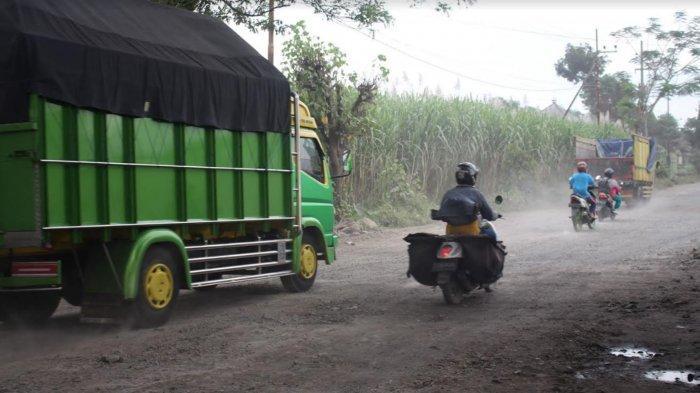 Jalan Rusak Parah 'Jeglongan Sewu' di Puncu, Bupati Kediri : Pengerjaan Selesai September 2021