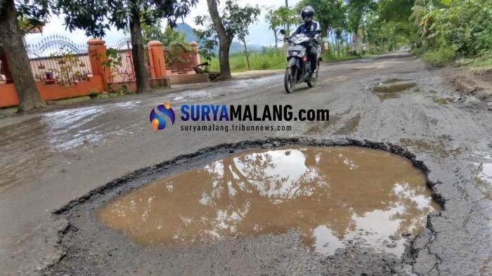 Jalan Rusak di Trenggalek Merata, Anggaran Pemeliharaan Terbatas Cuma Rp 200 Juta/Kecamatan
