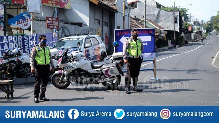 Kota Batu Terapkan Physical Distancing, Jl Sultan Agung Ditutup Sabtu dan Minggu