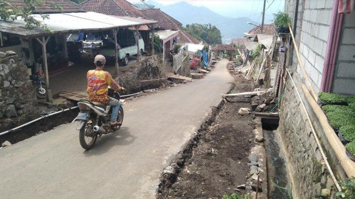 Proyek Jalan Tembus Toyomerto Batu Dimulai dengan Pembuatan Drainase dan Pelebaran Jalan