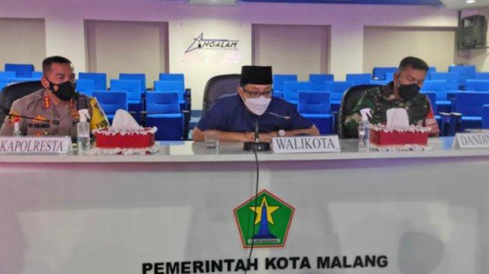 Jumlah Kasus Positif Covid-19 di Kota Malang Menurun, Sutiaji Klaim Semakin Melandai
