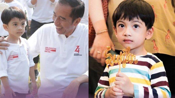 Wajah Tampan Jan Ethes Sepedaan Bareng Jokowi Tersorot, Putra Selvi Ananda Makin Besar dan Ramah