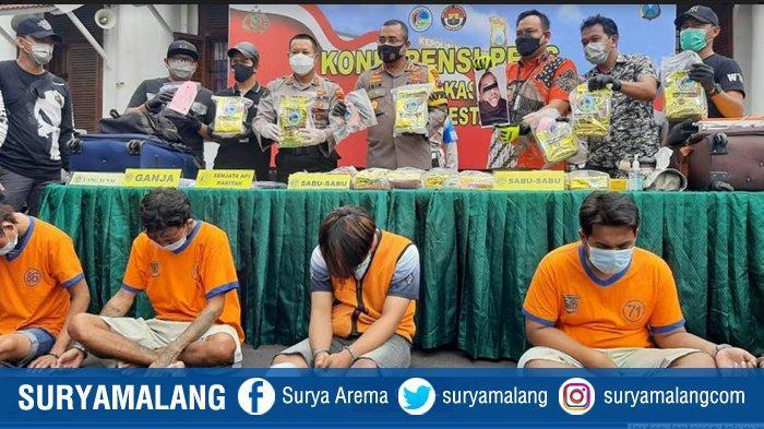Jaringan Pengedar Sabu Malaysia Dibongkar, 1 Kurir Ditembak Mati, Total Sabu Diamankan 22 Kilogram