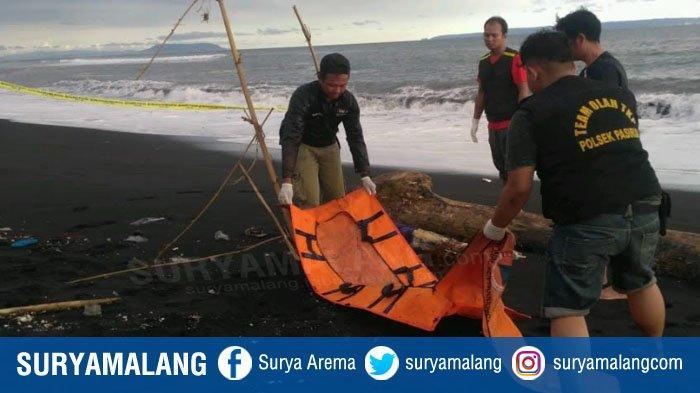 Penemuan Jasad Tanpa Kepala di Pantai Selatan Pasirian Lumajang