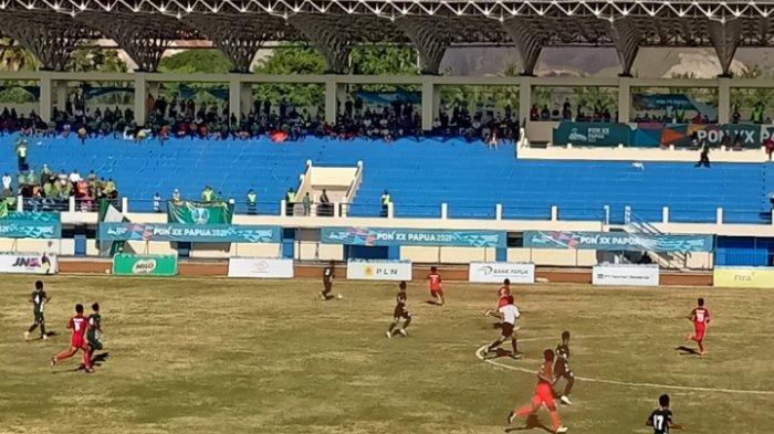 Laga di Menit 53, Jatim Tertinggal 1-2 dari Aceh