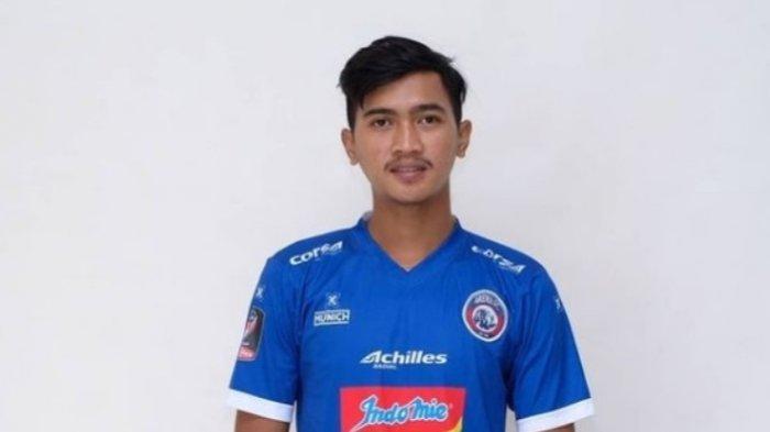 Jayus Hariono pemain Arema FC.