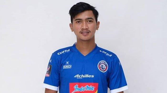 Ilustrasi: Pemain Arema FC Jayus Hariono