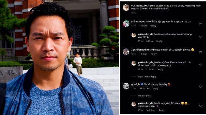 Jejak Digital Chat MYD dan Gisel di IG Tahun 2018 Disorot, Mantan Gading Martin Kirim Emoji Joget