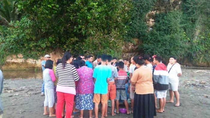 Rombongan 85 Orang Berkurang Satu, Ternyata Tenggelam di Sungai Dekat Pantai Sine, Tulungagung