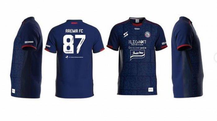 Jadwal Launching Jersey Ketiga Arema FC Disiapkan, Persib Bandung Lebih Dulu Rilis Jersey Hitam