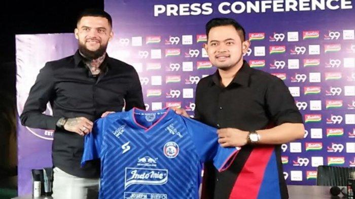 Ambisi Diego Michiels Bersama Arema FC, Sesumbar Ingin Bawa Singo Edan Meraih Juara Liga 1 2021