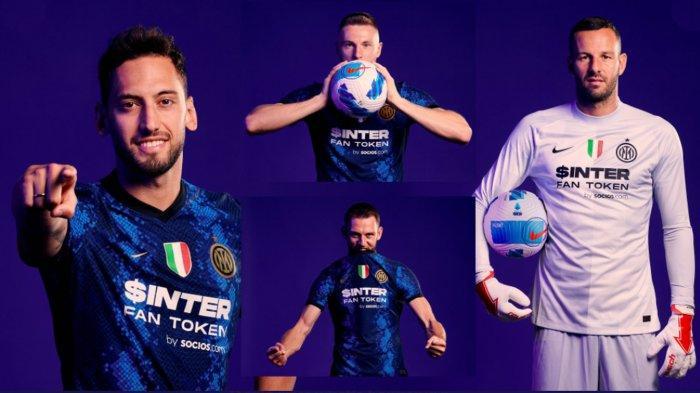 Logo Pirelli di Jersey Inter Milan Akhirnya Berganti, Sponsor Baru Beri Dana Segar Rp 342,8 Miliar