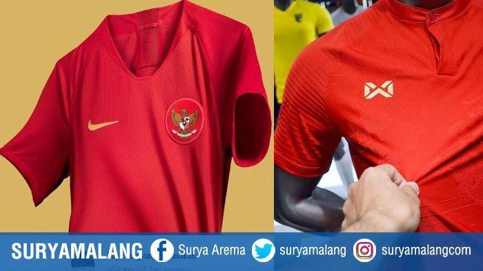 Timnas Indonesia Ditinggal Nike, Jersey Timnas Indonesia Kini Berlogo Warrix, Apparel Asal Thailand