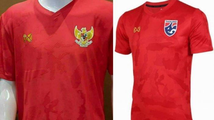 Jersey Timnas Indonesia Diduga Jadi Jersey Timnas Thailand, Heboh Komentar Para Kolektor Jersey
