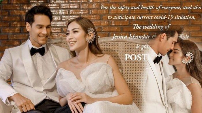 Pernikahan Jessica Iskandar dan Richard Kyle Ditunda Akibat Virus Corona, Sudah Habis Ratusan Juta
