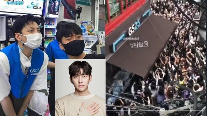 Ji Chang Wook Dikepung Puluhan Fans Gara-gara Jadi Kasir Minimarket, Viral Demi Backstreet Rookie