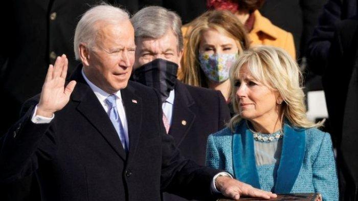 Tak Disangka, Joe Biden dan Istrinya Bawa Satu Perabotan Unik saat Boyongan Pindah ke Gedung Putih