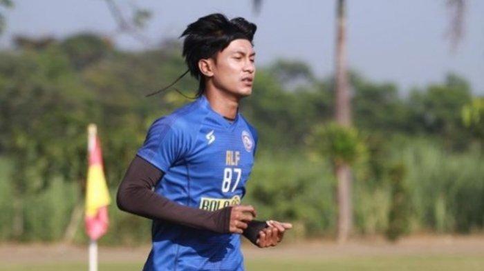 Johan Ahmat Farizi atau Jhon Alfarizi, pemain Arema FC, yang ikut menanda-tangani surat terbuka APPI untuk Presiden Jokowi.