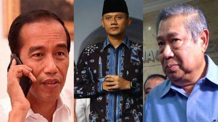 Terkait Dugaan Kudeta di Partai Demokrat, AHY : Hubungan Pak SBY dan Pak Jokowi Cukup Baik