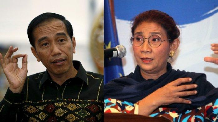 Jokowi : Jangan-jangan Bu Susi Ini Mau Jadi Presiden