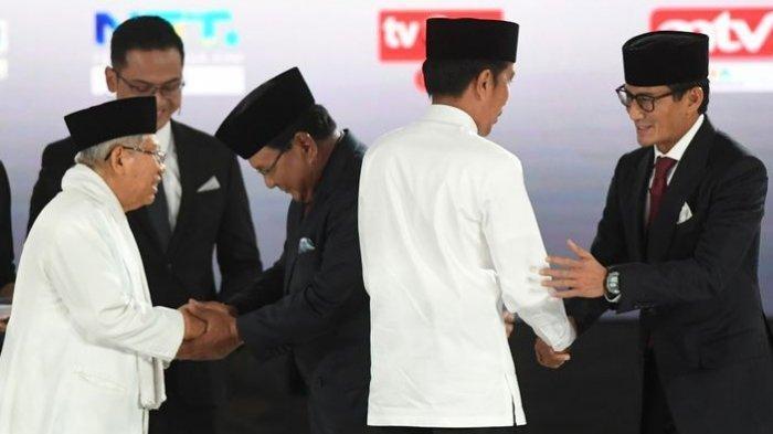 Mayoritas Suara Jokowi-Maruf Ada di 12 Provinsi Ini, Tapi Prabowo-Sandi Minta Coblosan Ulang