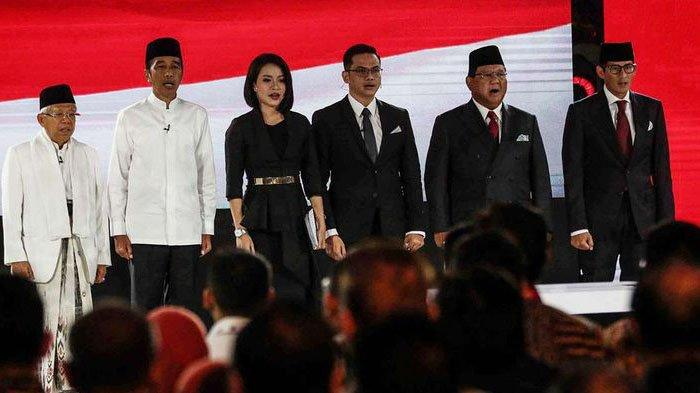 Update Hasil Pemilihan Presiden 2019, Real Count KPU Suara Jokowi & Prabowo Selisih 15 Juta Suara