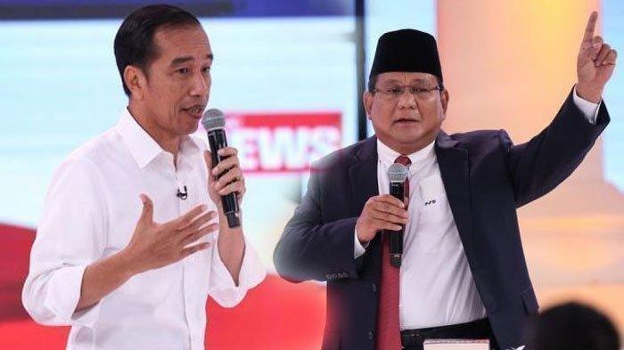 Gaya Busana Peserta Debat Pilpres 2019 ke- 5, Jokowi - Ma'ruf Serba Putih, Prabowo-Sandi Konsisten