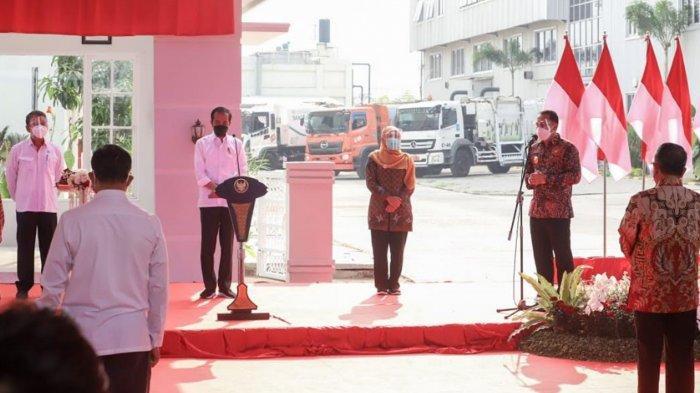 Pengolah Sampah Jadi Listrik PSEL Benowo Surabaya Diresmikan, Presiden Jokowi Minta Kota Lain Meniru