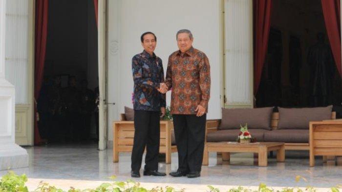 Presiden dan Mantan Presiden RI, Jokowi dan SBY Bertemu di Istana, Apa Ya yang Dibicarakan?