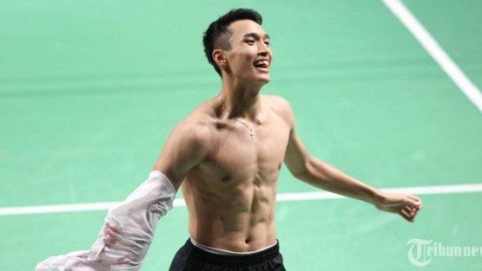 Selepas Raih Medali Emas di Asian Games 2018, Level Jonatan Christie Merangkak Naik