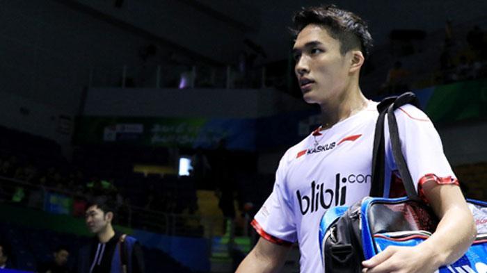 Update Hasil Semifinal Bulutangkis ( Badminton ) Indonesia Beregu Putra, Jonatan Christie Menang