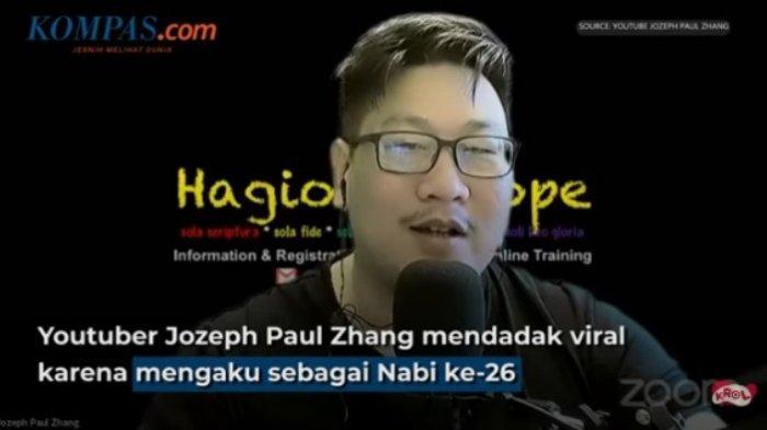 Mengaku Nabi ke-26, Jozeph Paul Zhang Diburu Polri, Beredar Kabar Dia Ada di Jerman Atau Hong Kong
