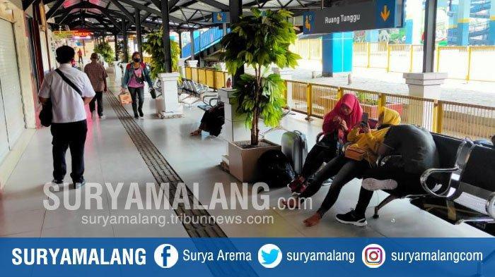 Dampak Pandemi Covid-19 di Kota Malang, Penumpang di Terminal Arjosari Turun Sampai 70 Persen