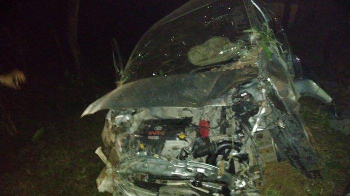 Toyota Yaris Terperosok ke Jurang Sendi Sedalam 25 Meter, Pengemudi asal Surabaya Hanya Luka Ringan
