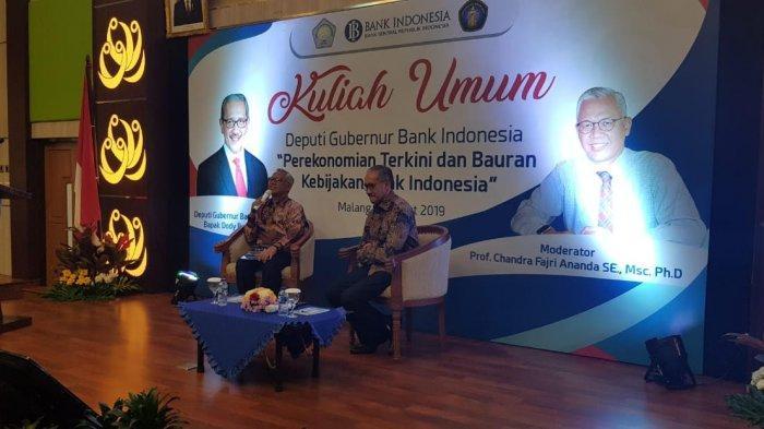 Deputi Gubernur Bank Indonesia Beri Kuliah Umum di FEB Universitas Brawijaya (UB) Malang
