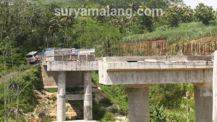 Pemkab Malang Sebut Pembangunan Jembatan Srigonco Ditarget Selesai 2021