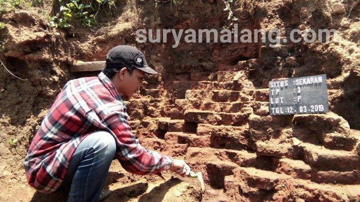 Ditemukan Struktur Bangunan Baru di Situs Sekaran, Malang, Diduga Peninggalan Pra Kerajaan Majapahit