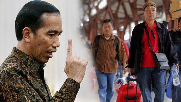 RESMI! Presiden Jokowi Larang Masyarakat Mudik Tahun Ini 2020