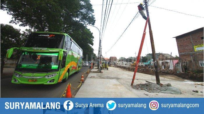 Tiang Listrik Jadi Kendala Penyelesaian Pembangunan Exit Tol Madyopuro, Seksi V Tol Malang Pandaan