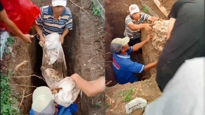 Geger Temuan Kain Kafan Jenazah Utuh di Bojonegoro, Diduga Pemakamannya Sudah Bertahun-tahun