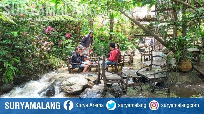 Dongkrak Kunjungan Wisatawan, Coban Jahe di Jabung Malang Berbenah Tawarkan Konsep Kafe Ketjeh