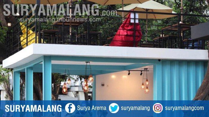 Kafe Tengah Kota (KaTeKo) Surabaya, Sensasi Nongkrong di Kontainer Bertema Industrial Instagramable
